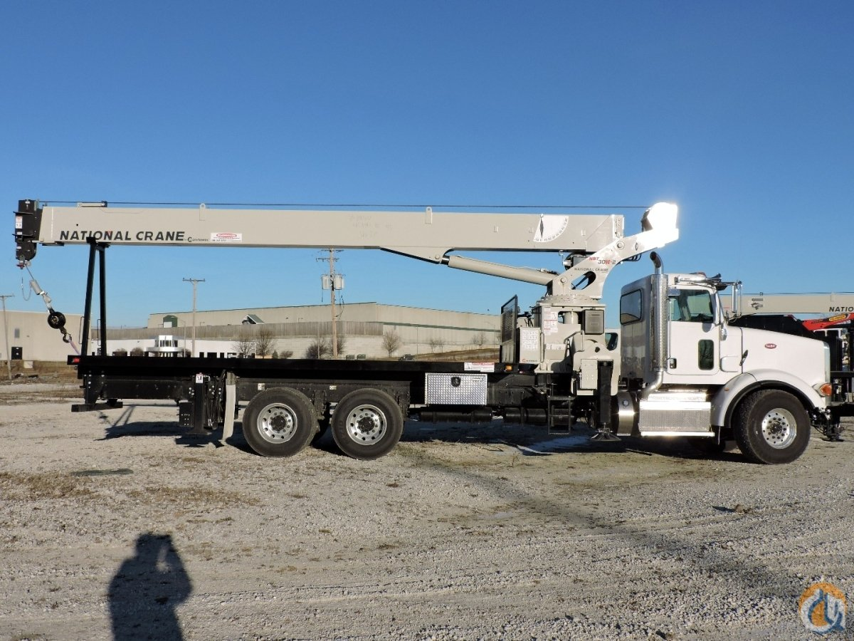 National Crane NBT30H-2 Peterbilt 365 Crane for Sale or Rent in Lyons Illinois on CraneNetwork.com