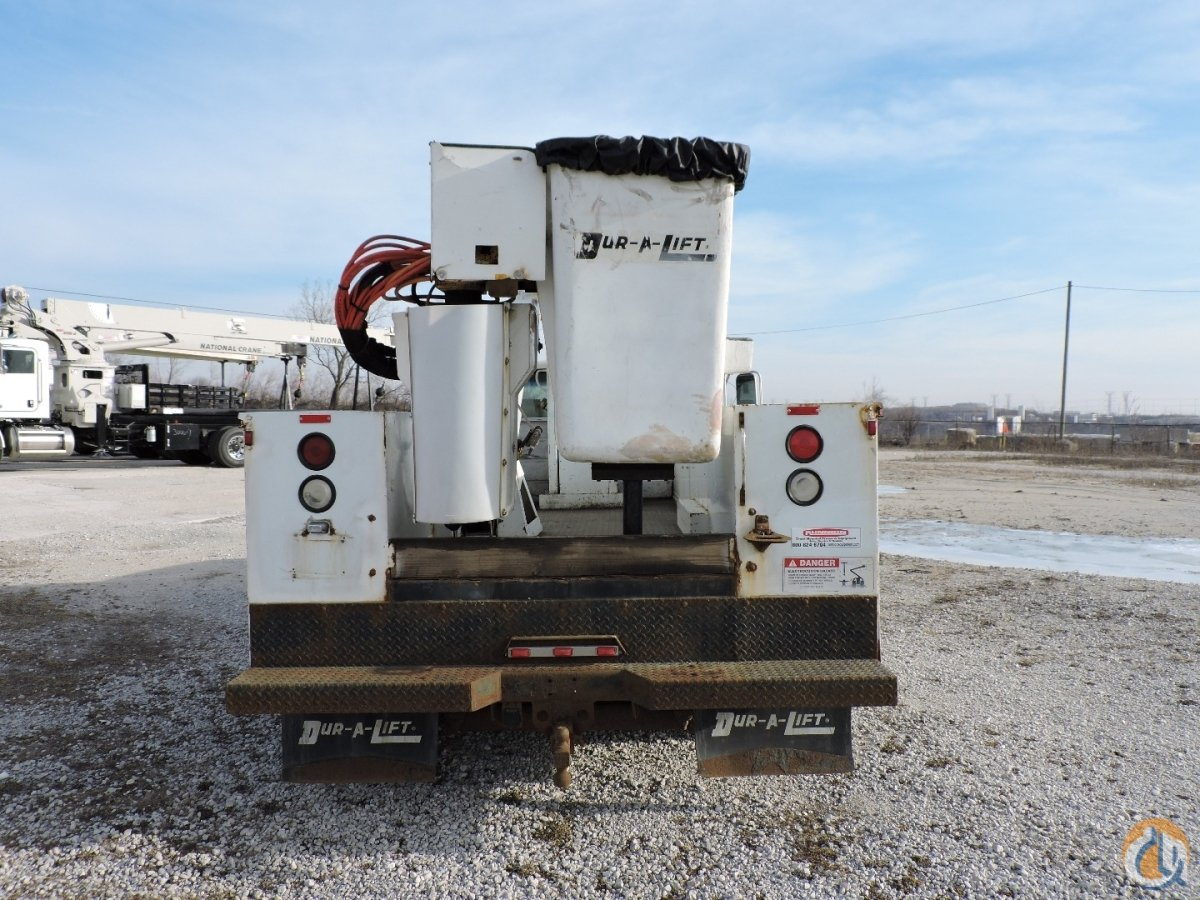 Dur-A-Lift DTA-35 Bucket Truck 2000 Chevy 3500 Crane for Sale in Lyons Illinois on CraneNetwork.com