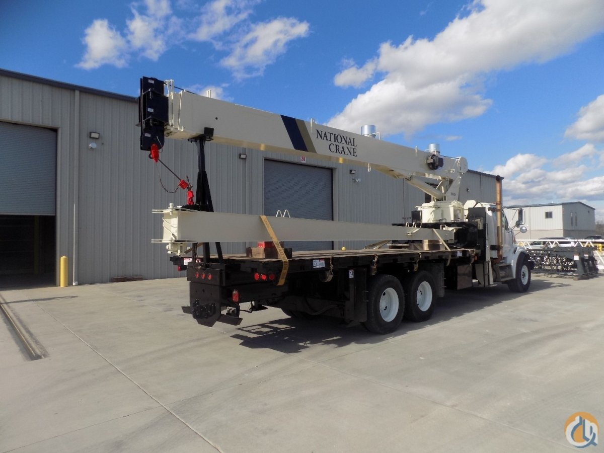 Sold 2008 National 8100D Crane for  in Richfield Ohio on CraneNetwork.com