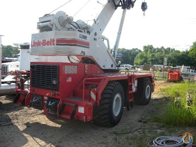 2009 LINK BELT RTC 8050 Crane for Sale in Natchez Mississippi on CraneNetworkcom