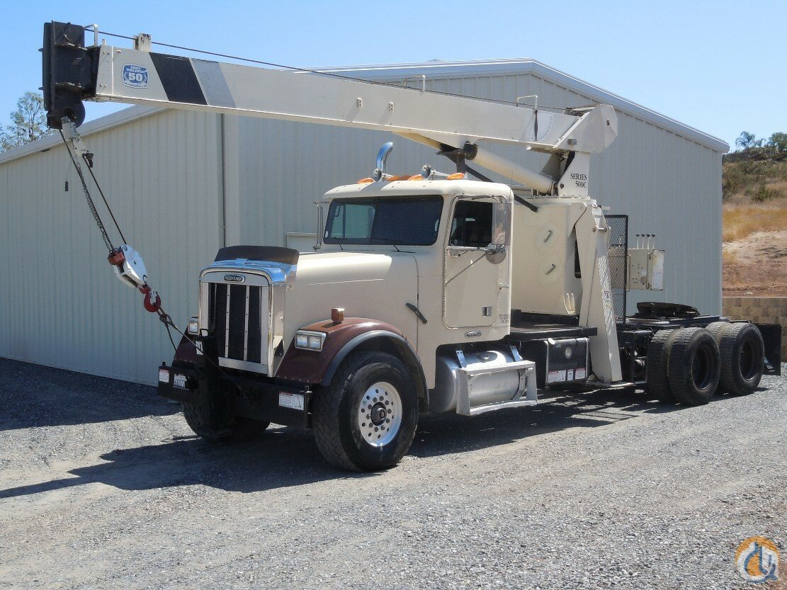 National  Freightliner  15Ton Tractor Mount Crane for Sale in Sacramento California on CraneNetwork.com