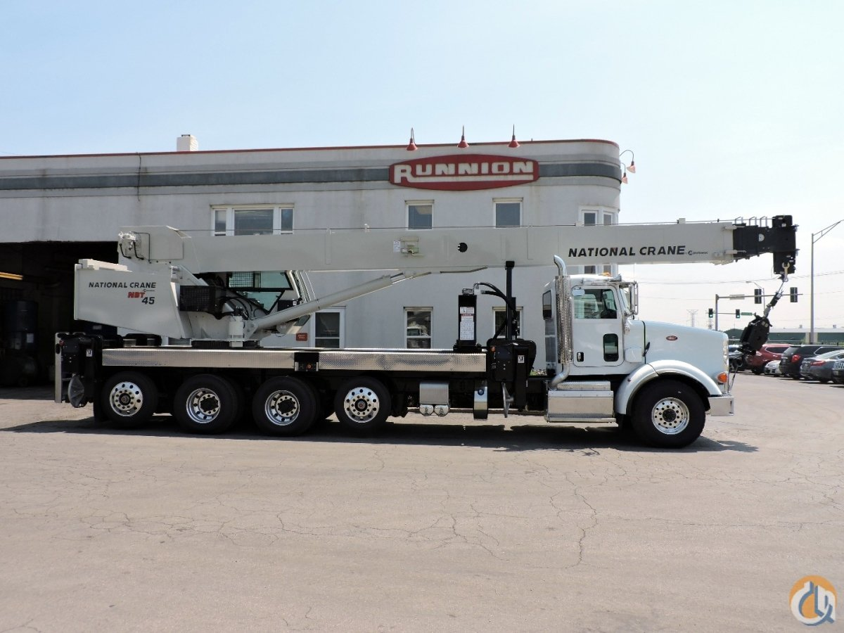 National Crane NBT45 - 2018 Peterbilt 365 Crane for Sale in Lyons Illinois on CraneNetworkcom