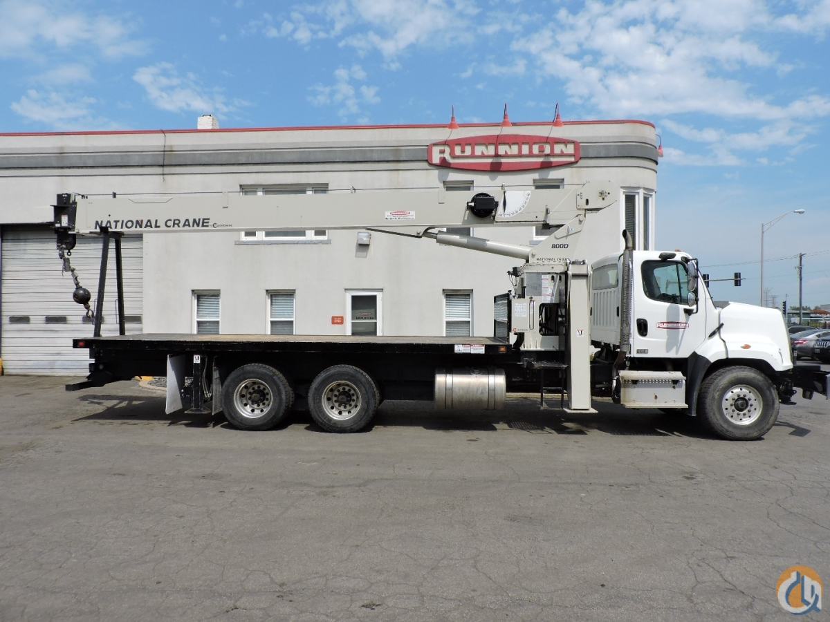 Sold National 8100D 23-Ton Crane on 2015 Freightliner 108SD Crane for  in Lyons Illinois on CraneNetwork.com