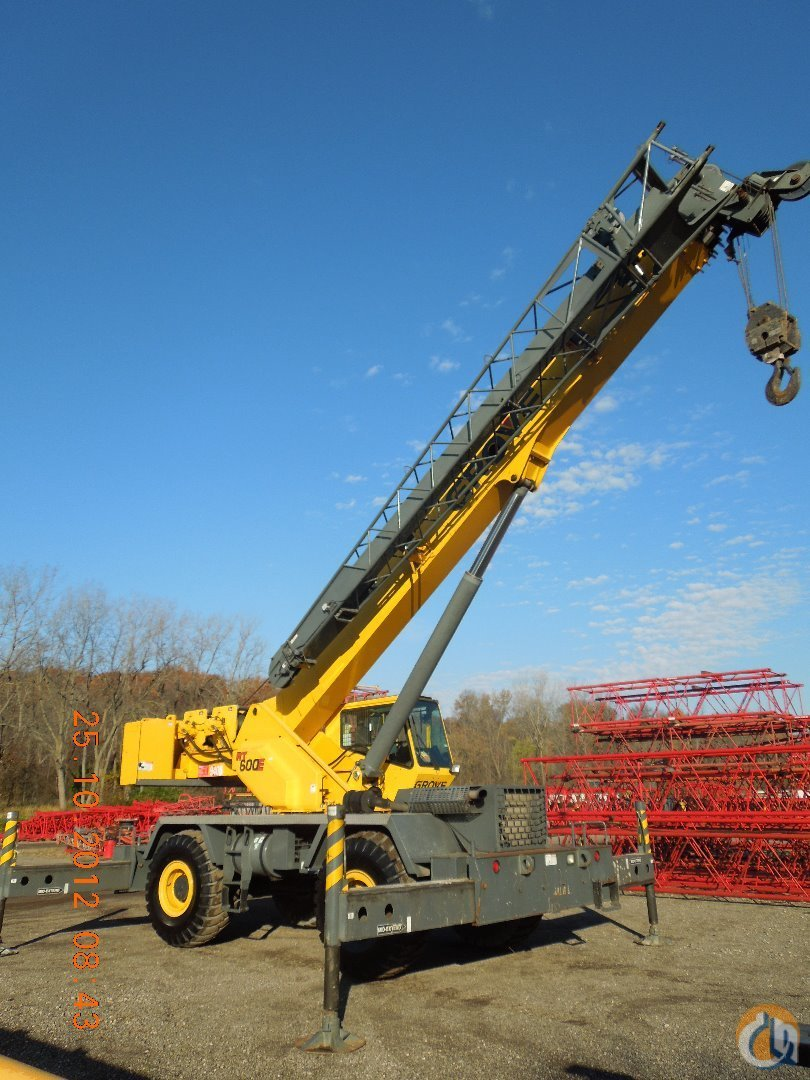 2006 Grove RT650E For Sale Crane for Sale in Hammond Indiana on CraneNetwork.com