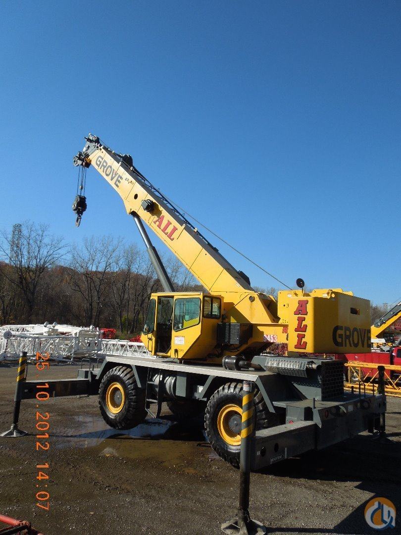 2006 Grove RT650E For Sale Crane for Sale in Cleveland Ohio on CraneNetworkcom
