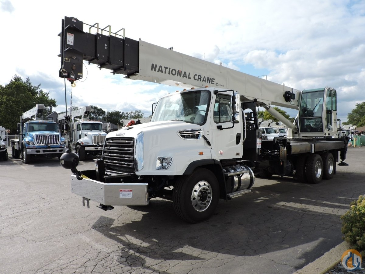 National Crane 14127A 2018 Freightliner 114SD Crane for Sale in Lyons Illinois on CraneNetwork.com