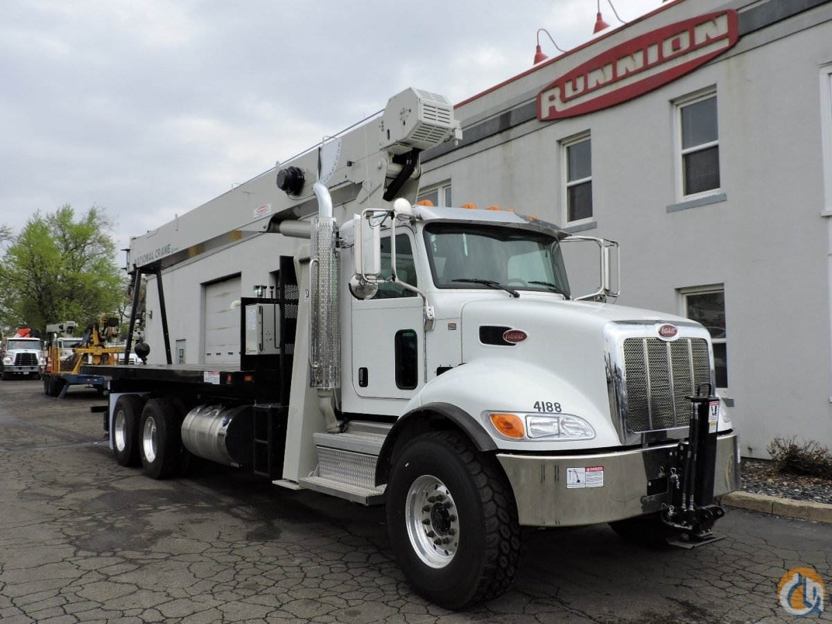 National 8100D 2019 Peterbilt 348 8LL Crane for Sale or Rent in Hodgkins Illinois on CraneNetwork.com