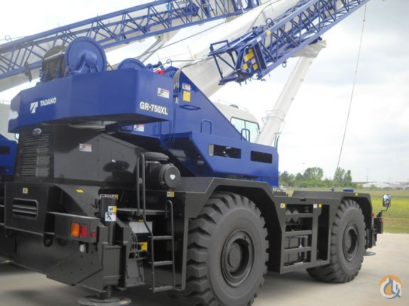 2016 Tadano GR750XL-2 Crane for Sale in Cleveland Ohio on CraneNetwork.com