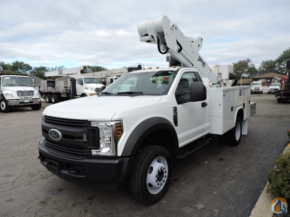 DTAXS-39FP mounted on a 2018 Ford F550 4x2 Crane for Sale in Lyons Illinois on CraneNetwork.com