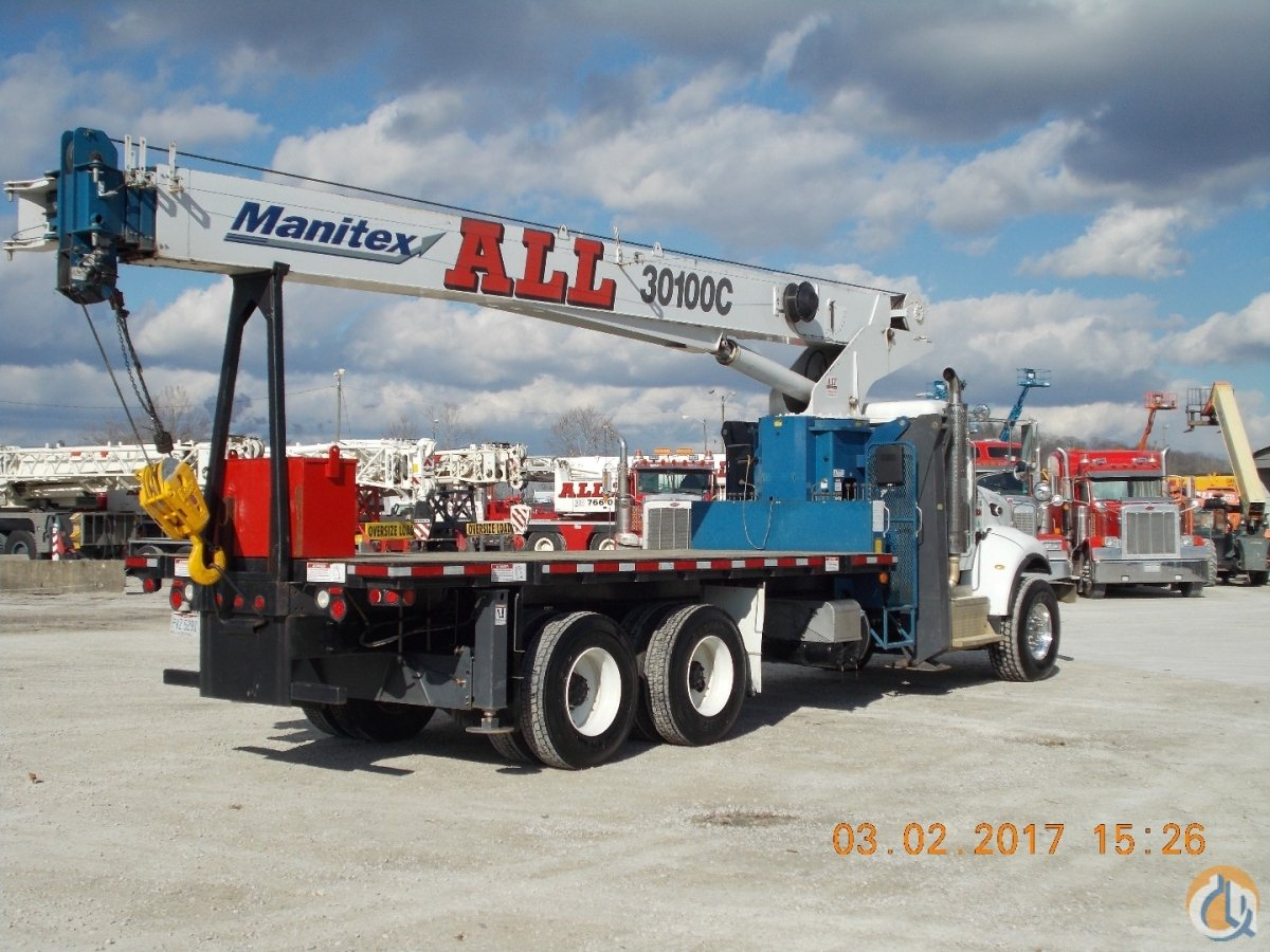Sold 2014 MANITEX 30100C Crane for  in Nitro West Virginia on CraneNetwork.com