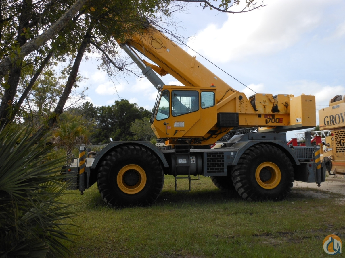 2007 Grove RT 700E Crane for Sale in Clearwater Florida on CraneNetworkcom