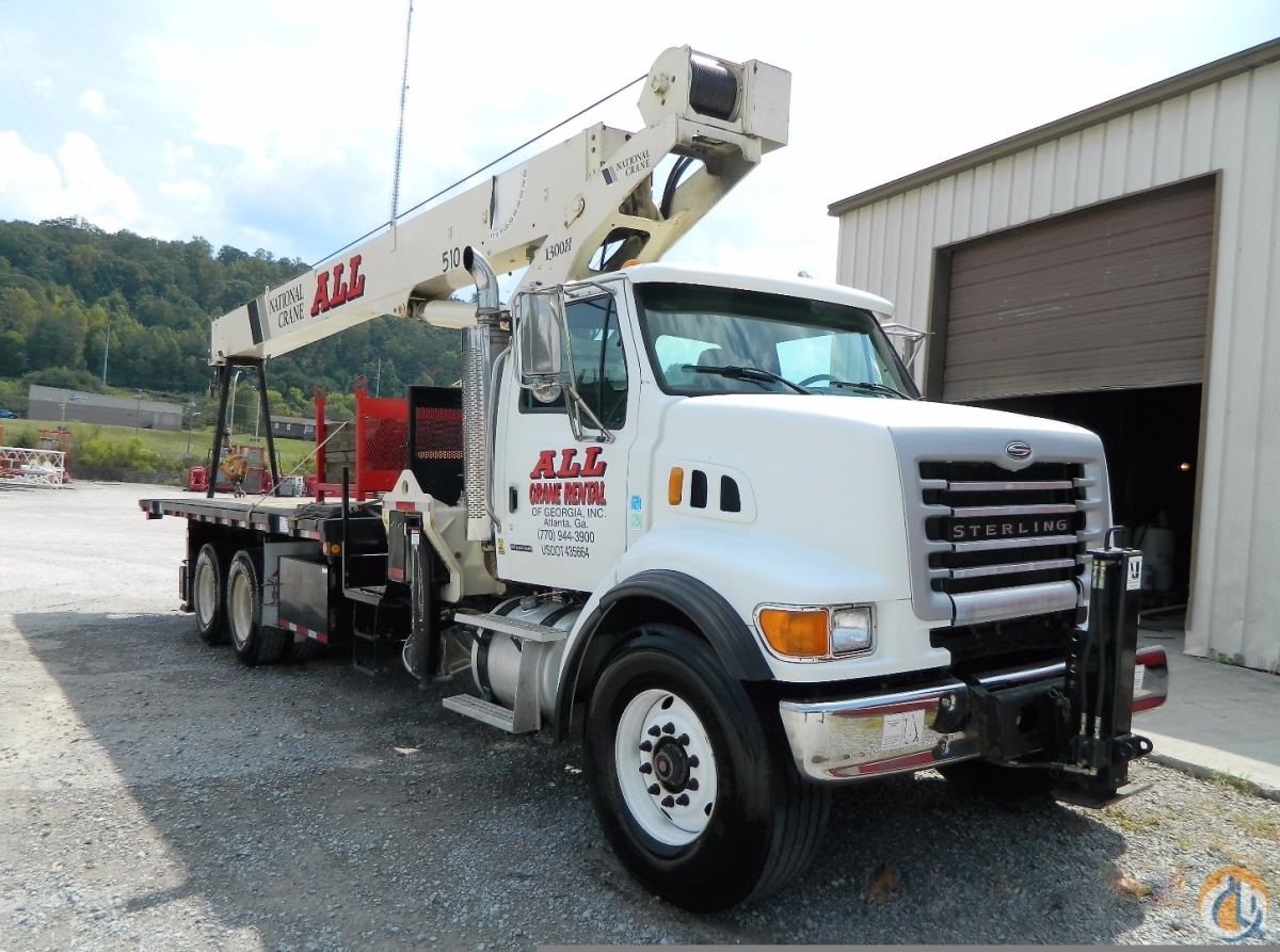 2007 NATIONAL 13110H X510 Crane for Sale in Knoxville Tennessee on CraneNetworkcom