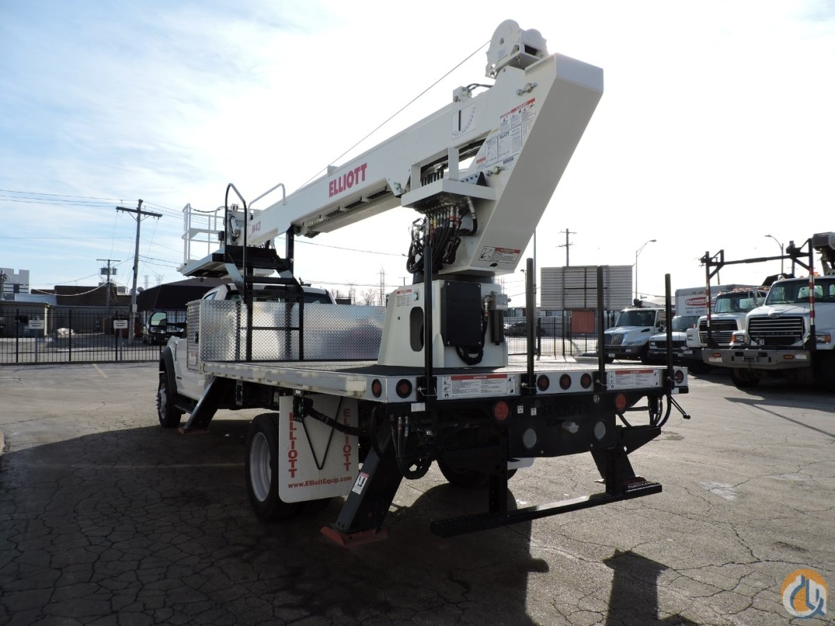 M43R 2019 Ford F550 XL 4x2 diesel Crane for Sale in Lyons Illinois on CraneNetwork.com