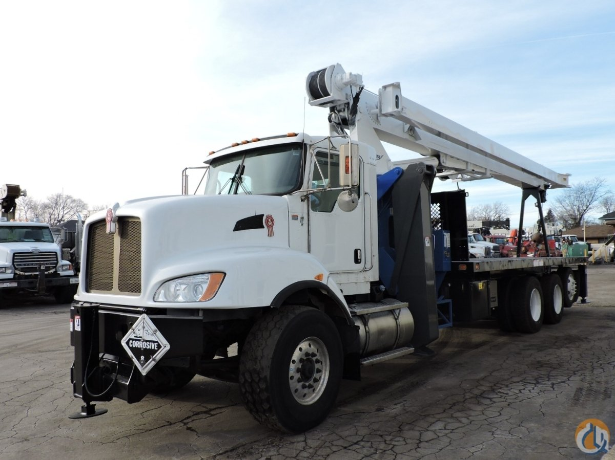 Manitex 26101C mounted on a 2013 Kenworth T470 Crane for Sale in Hodgkins Illinois on CraneNetwork.com
