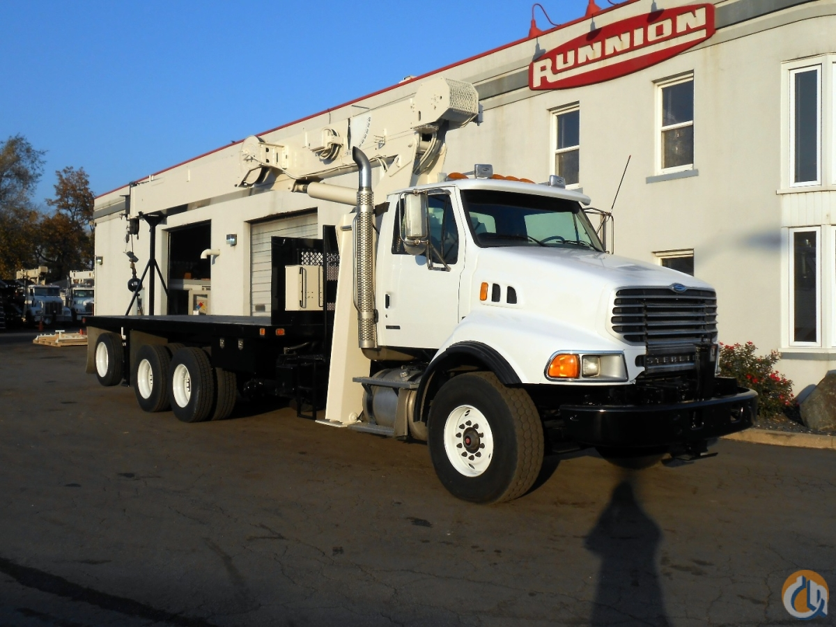 Sold National Crane 8100D with 44 jib 2007 Sterling LT9513 Crane for  in Lyons Illinois on CraneNetworkcom