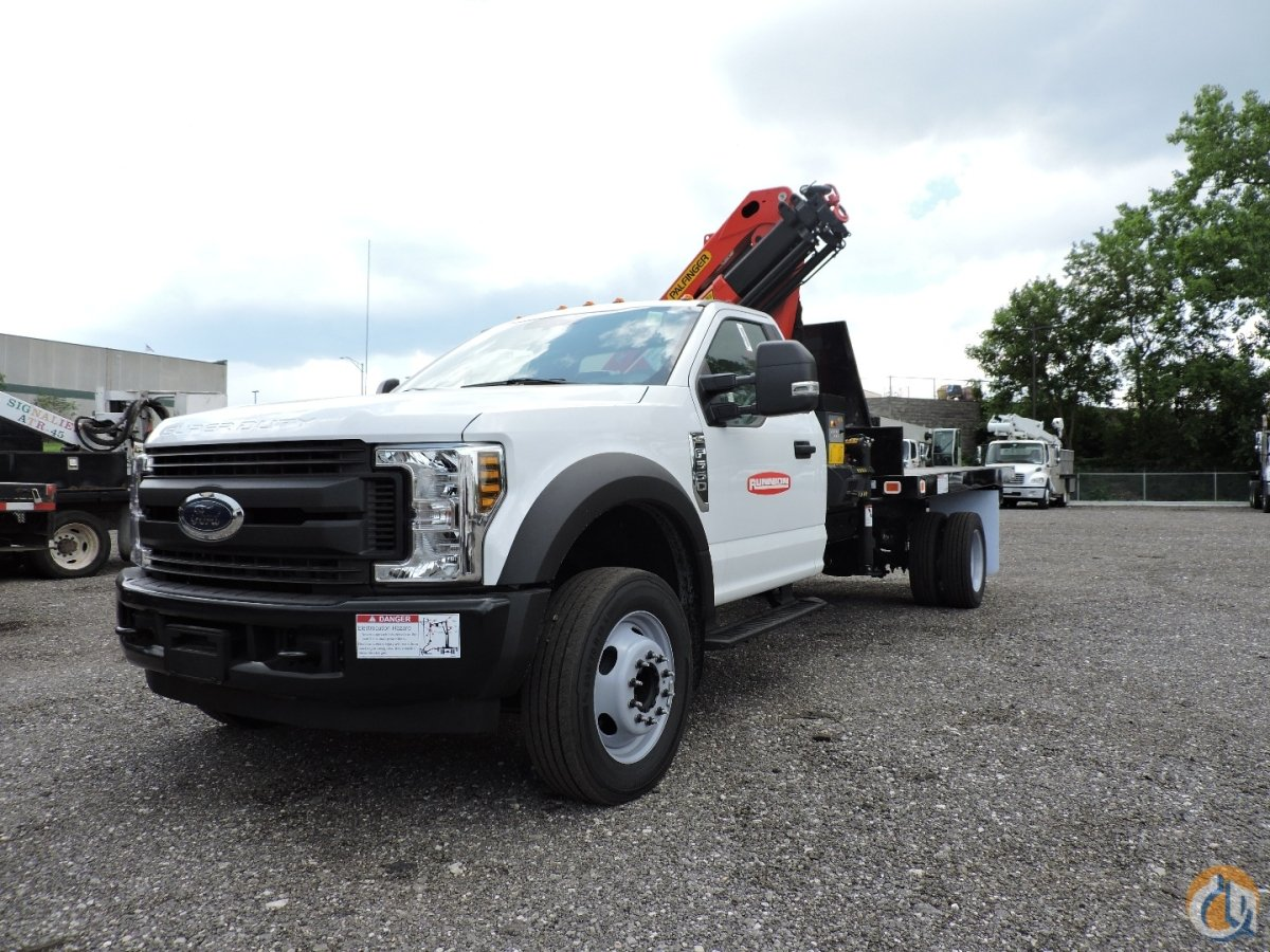 PK 7.001 SLD3 2019 Ford F550 Crane for Sale in Hodgkins Illinois on CraneNetwork.com