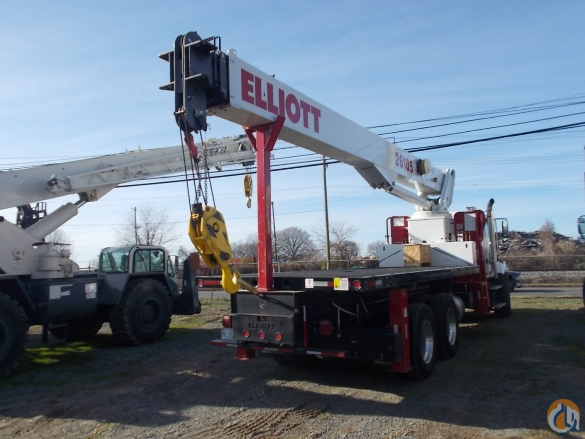 Elliott 26105 Boom Truck - ML Cranes  Equipment Crane for Sale or Rent in Charlotte North Carolina on CraneNetwork.com