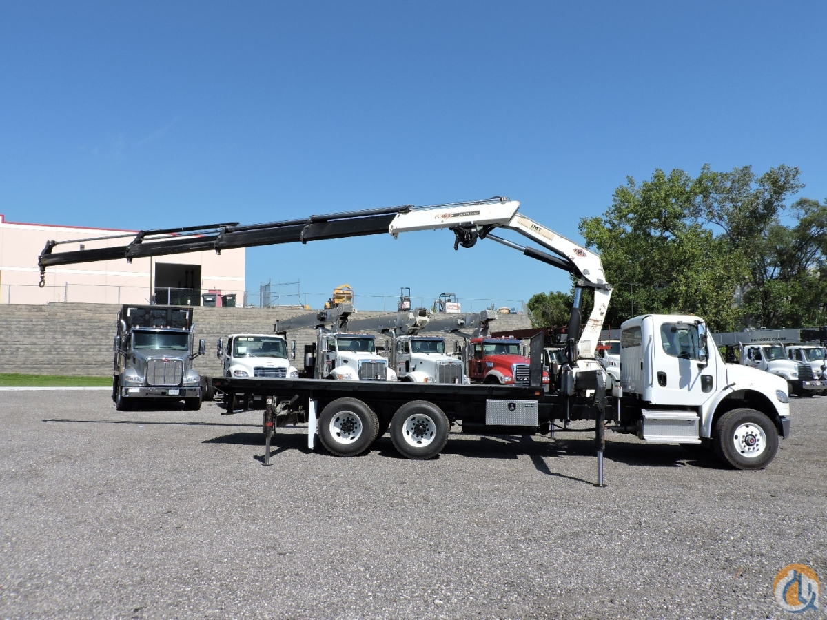 IMT 28198K4 mounted on a 2020 Freightliner M2-106 Crane for Sale in Hodgkins Illinois on CraneNetwork.com