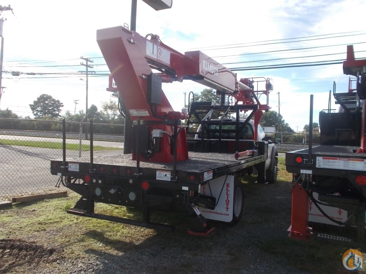 Elliott M43 Hi-Reach Crane for Sale in Charlotte North Carolina on CraneNetwork.com