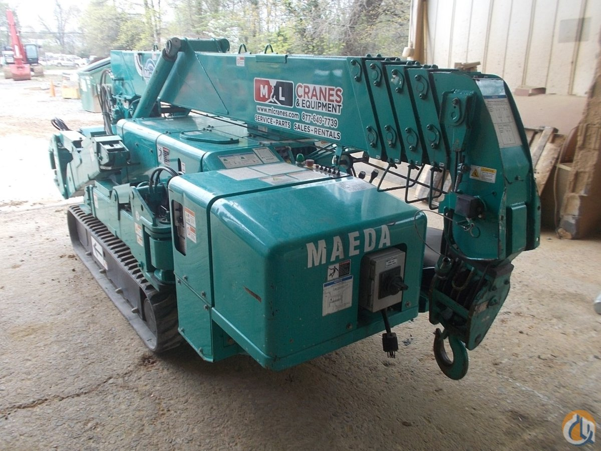2012 Maeda MC305-CRME mini crawler - McClung-Logan Crane  Equipment Crane for Sale or Rent in Charlotte North Carolina on CraneNetwork.com
