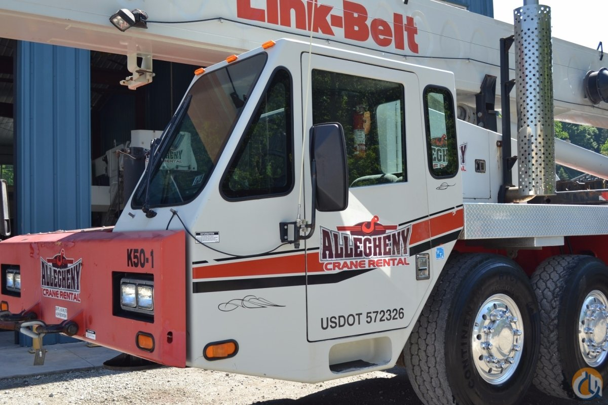 2006 Link-Belt HTC-8650 Crane for Sale or Rent in Pittsburgh Pennsylvania on CraneNetworkcom