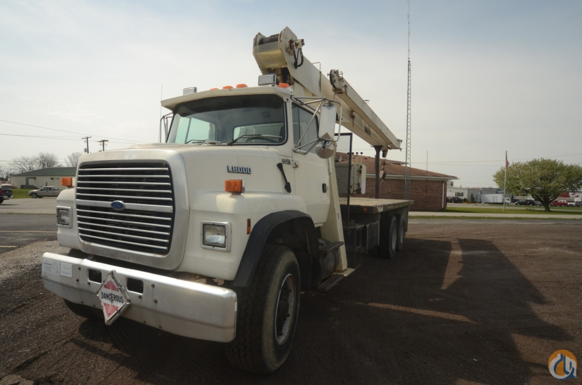 National 600C 17 Ton Boom Truck on Ford with Cummins Engine Crane for Sale on CraneNetworkcom