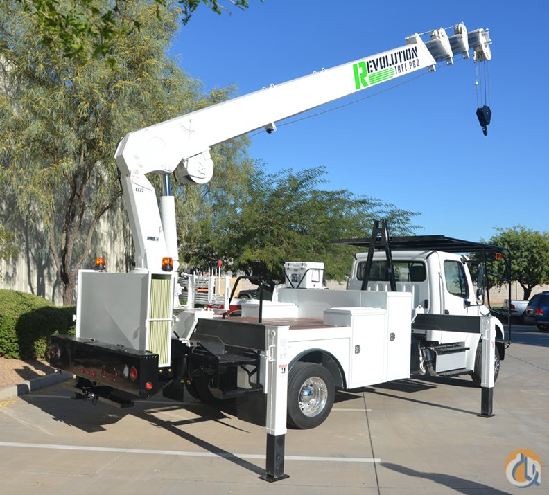 NEW 2017 FREIGHTLINER with 84 FT TIP HEIGHT and REARMOUNTED Crane for Sale or Rent in Phoenix Arizona on CraneNetworkcom