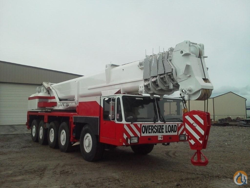 Demag AC335 All Terrain Crane for Sale on CraneNetwork.com