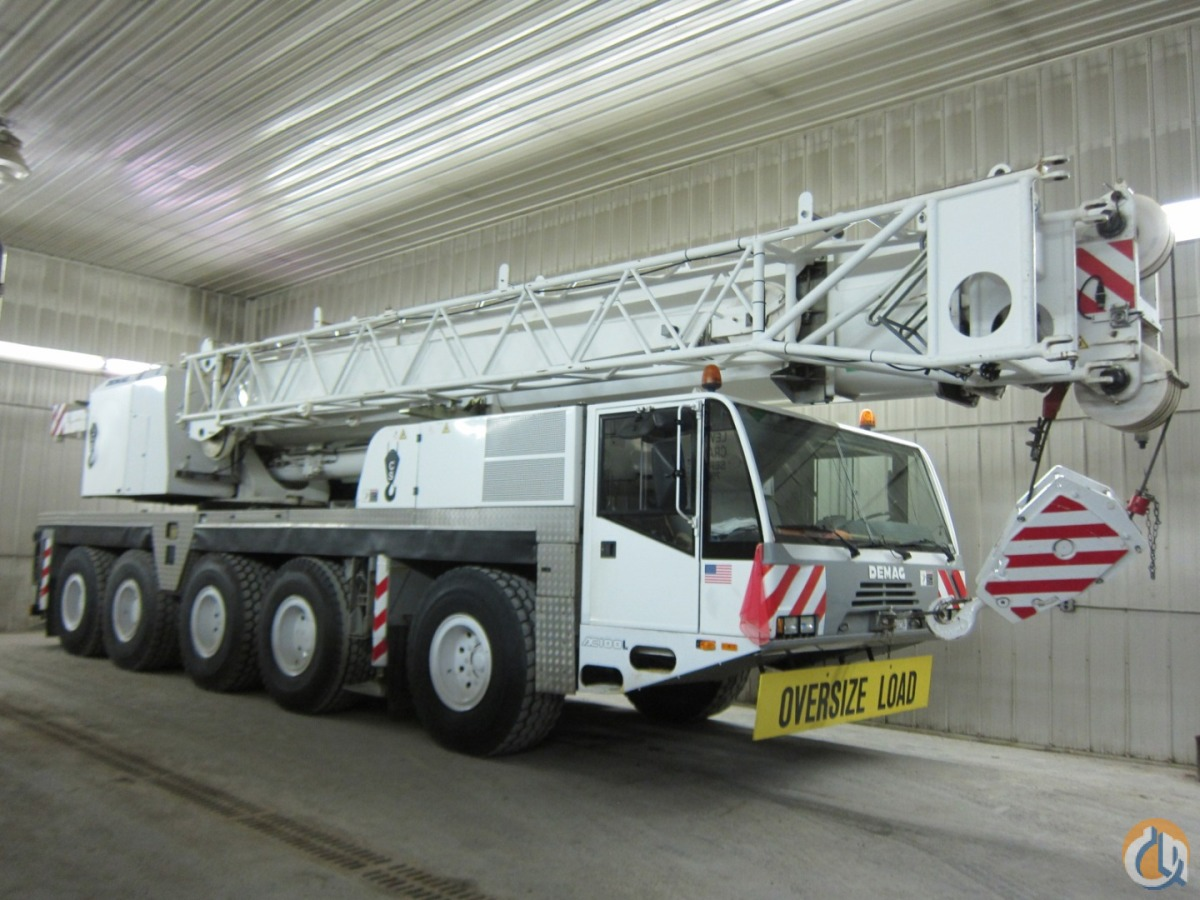 164 FEET BOOM   JIB 2 WINCHES LOW HOURS LOW MILES Crane for Sale in Baltimore Maryland on CraneNetworkcom