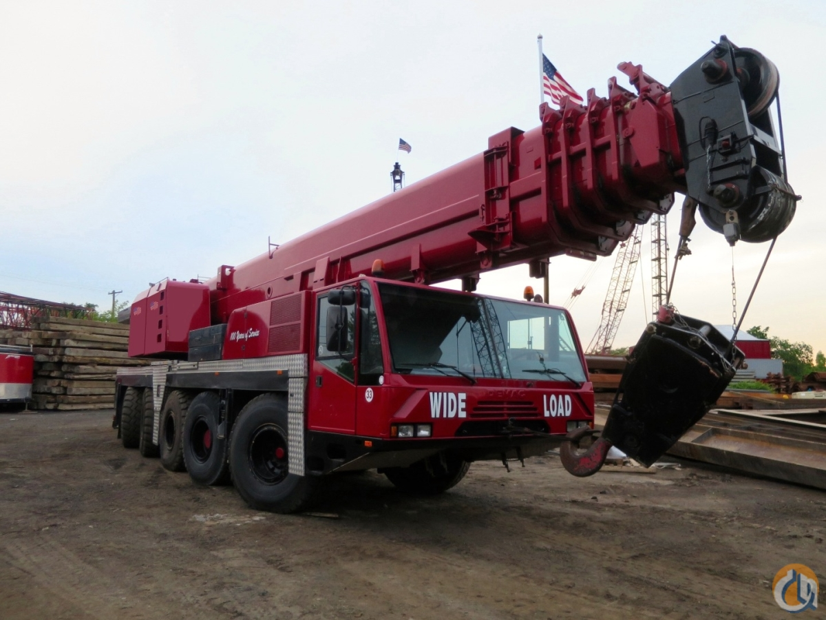 DEMAG AC120 165 US TON LONG BOOM 197 BOOM PLUS 56 JIB Crane for Sale in New York New York on CraneNetwork.com