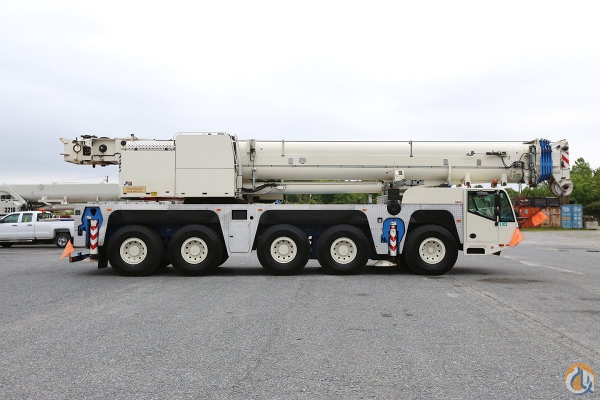 2008 DEMAG AC160-2 Crane for Sale in Baltimore Maryland on CraneNetwork.com