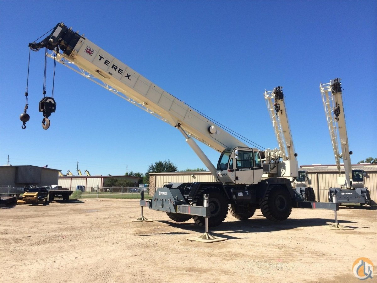 2011 TEREX RT555 Crane for Sale in Houston Texas on CraneNetwork.com