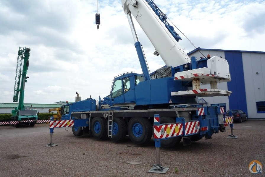 2008 TADANO ATF 110G-5 Crane for Sale in Galveston Texas on CraneNetwork.com