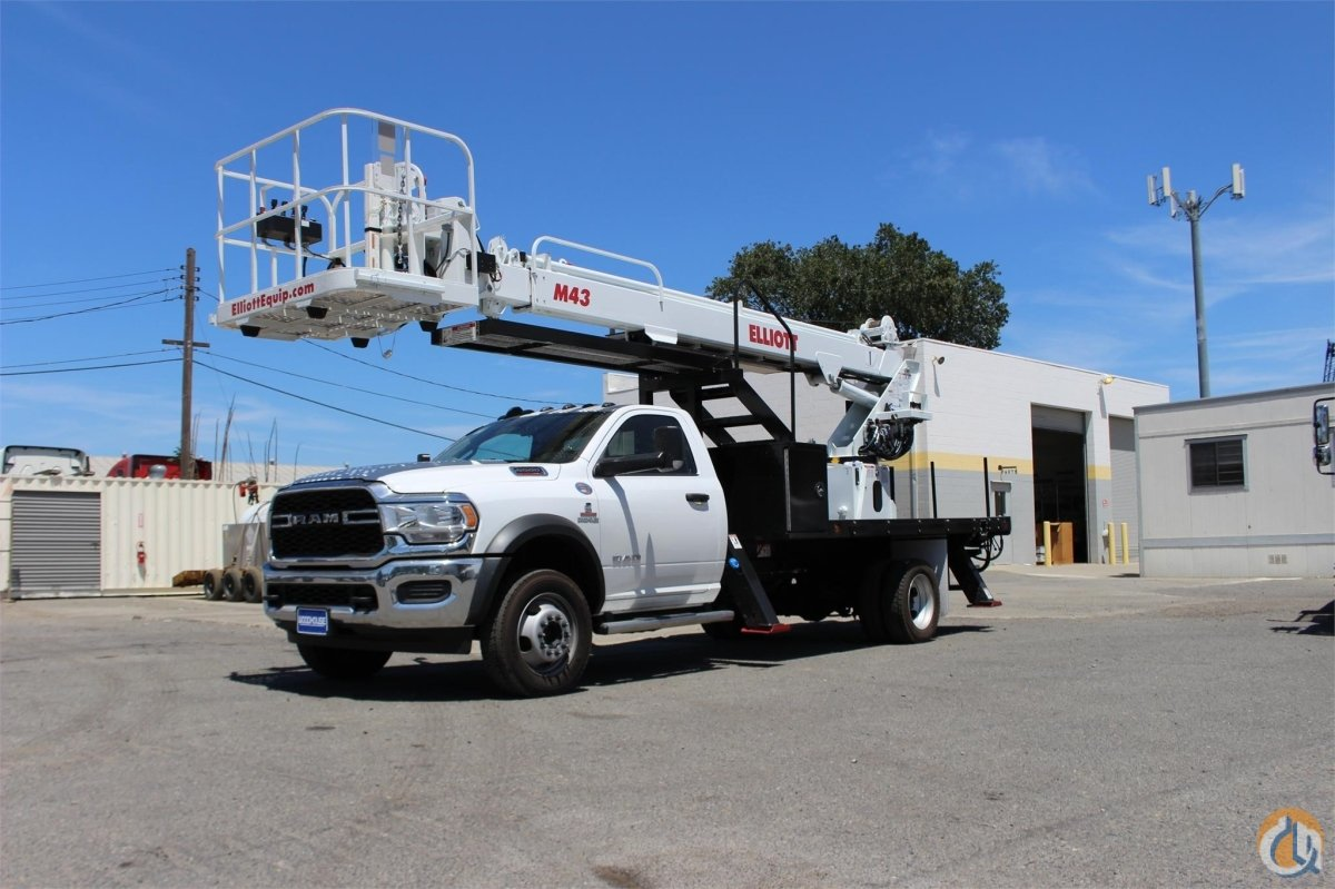 2019 ELLIOTT M43R Crane for Sale or Rent in Sacramento California on CraneNetwork.com