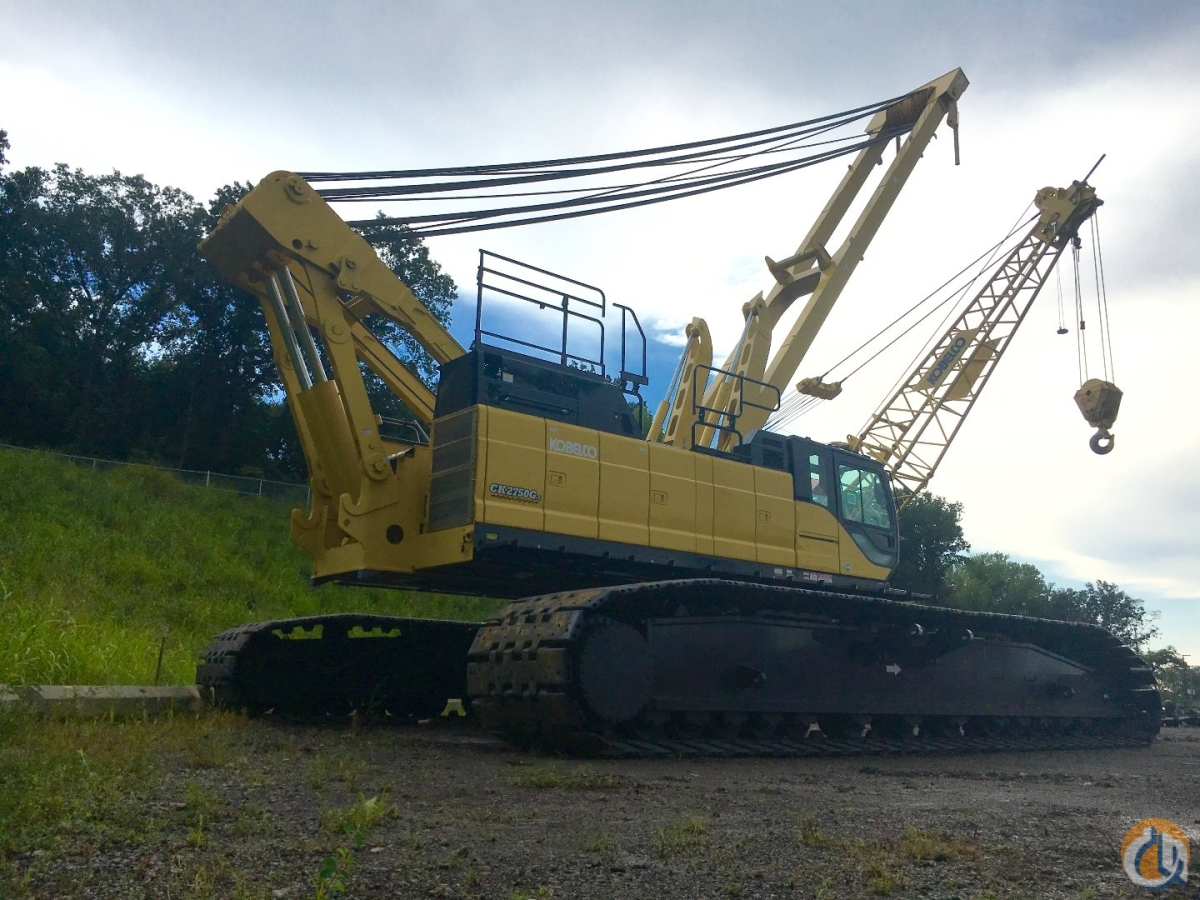 New Kobelco CK 2750G Crane for Sale in Kansas City Kansas on CraneNetworkcom