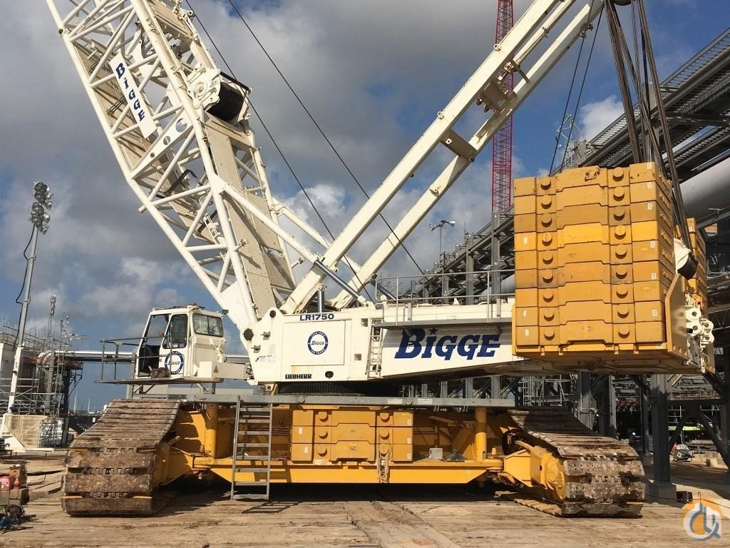 2008 LIEBHERR LR1750 Crane for Sale in Houston Texas on