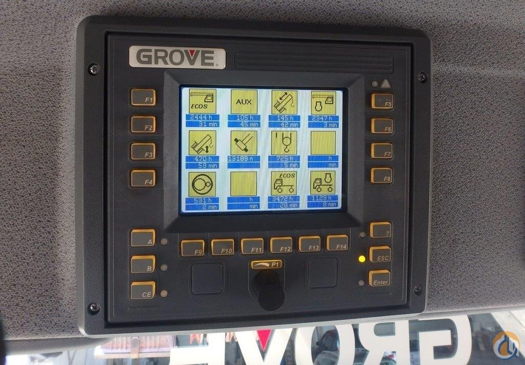 2009 GROVE GMK5165-2 SC-101 Crane for Sale in Newark New Jersey on CraneNetworkcom