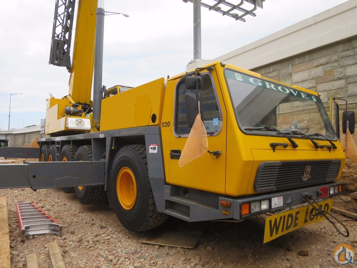 GROVE GMK5120B 120 TON WITH 167 BOOM PLUS 112 JIB CLOSE TO PORT OF BALTIMORE Crane for Sale in Baltimore Maryland on CraneNetwork.com