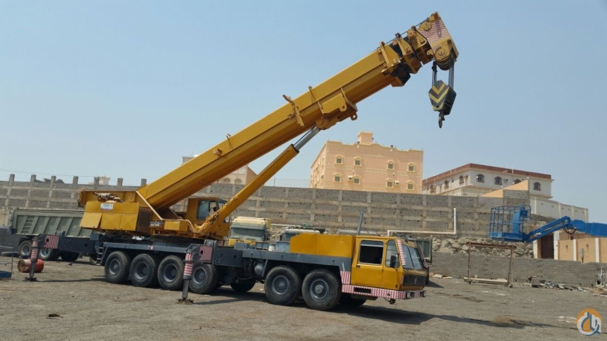 Sold KRUPP GMT 180 ALL TERRAIN CRANE 180 TON Crane for  in Dubai Dubai on CraneNetwork.com