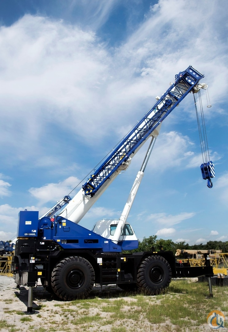 2016 Tadano GR1000XL Crane for Sale or Rent in Lexington South Carolina on CraneNetwork.com
