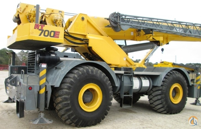 2008 GROVE RT700E Crane for Sale in St Augustine Florida on CraneNetworkcom