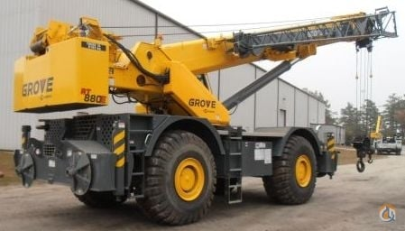 2012 GROVE RT880E 232915 Crane for Sale in St Augustine Florida on CraneNetworkcom