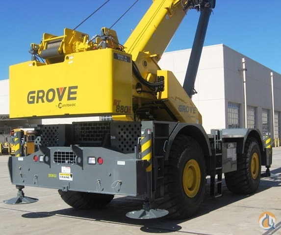 2012 GROVE RT880E Crane for Sale in St Augustine Florida on CraneNetworkcom