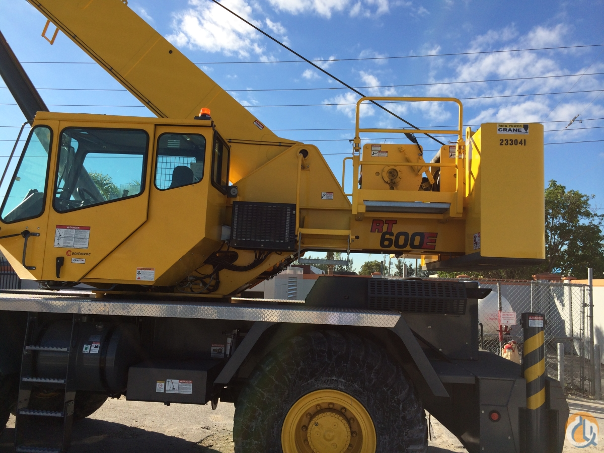 2012 GROVE RT600E 233041 Crane for Sale in St Augustine Florida on CraneNetworkcom