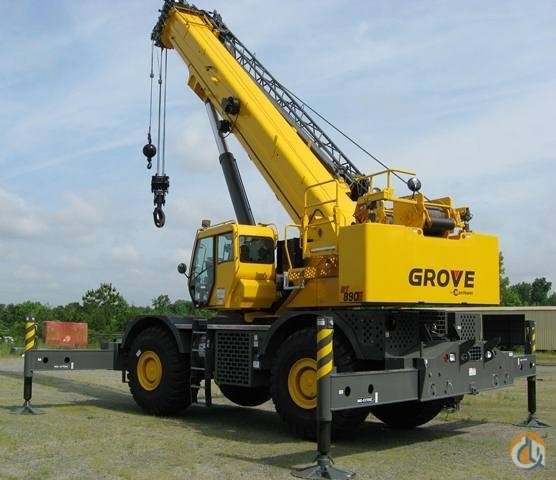 2014 GROVE RT890E Crane for Sale in St Augustine Florida on CraneNetworkcom