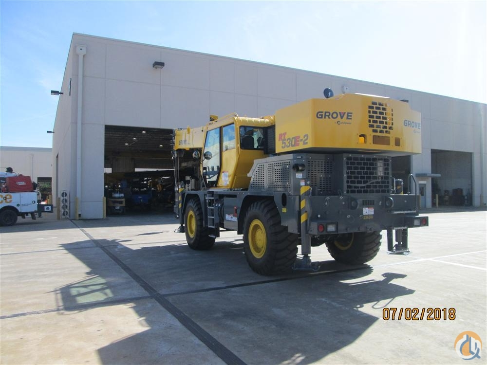 2018 GROVE RT530E2 Crane for Sale in Riverview Florida on CraneNetwork.com