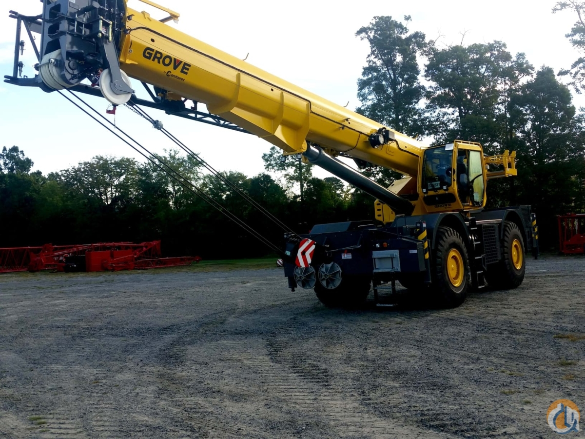 2018 GROVE GRT880 Crane for Sale in Concord North Carolina on CraneNetwork.com