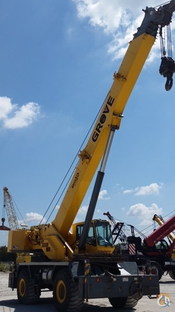 2005 GROVE RT600E 50 Ton Crane for Sale or Rent in Burleson Texas on CraneNetwork.com