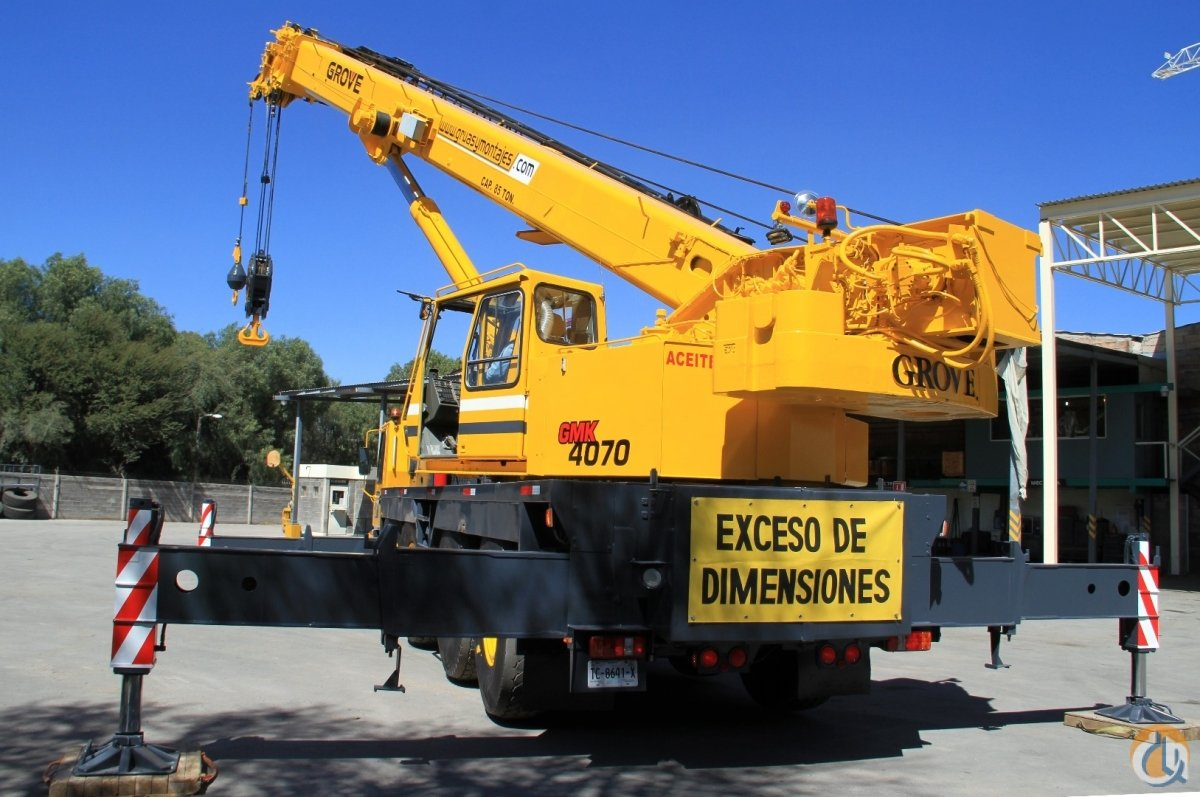 GROVE GMK4070 Crane for Sale in San Luis Potos San Luis Potos on CraneNetwork.com