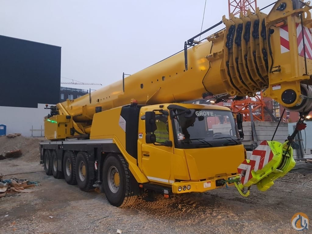 2017 Grove GMK 5150L Crane for Sale in Houston Texas on CraneNetwork.com